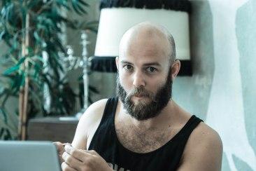 Post-festival beard