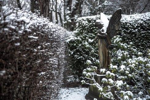 Guardian snow angel