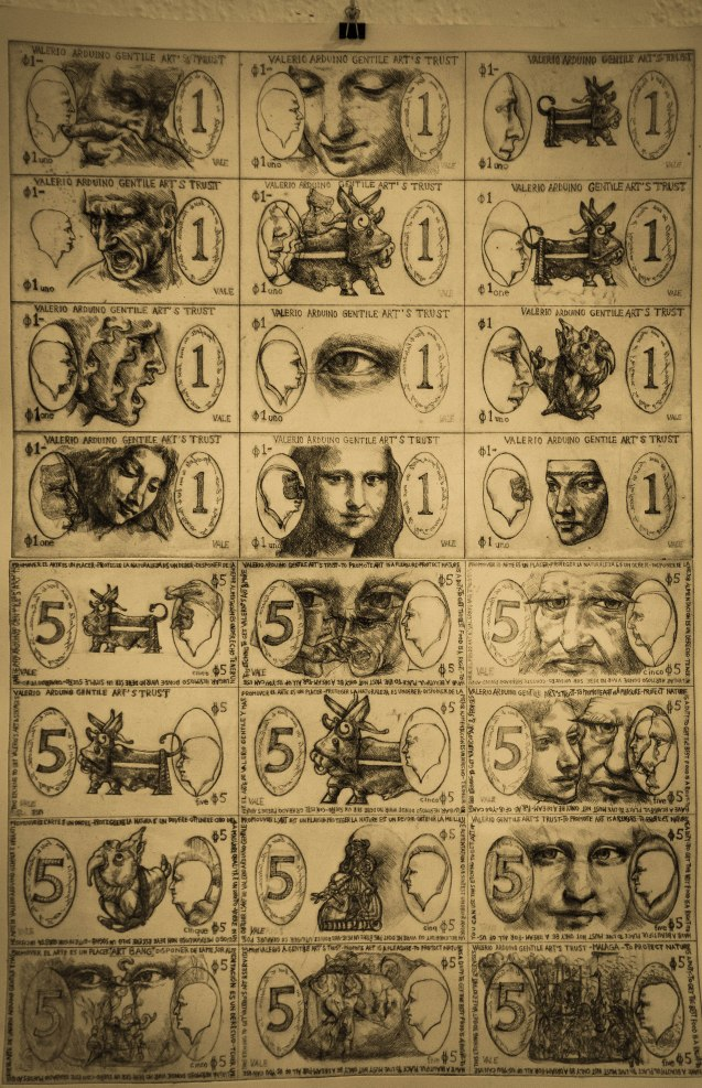 Surreal currency
