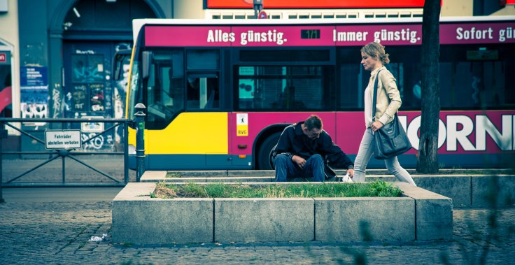 'everything low, always low' - does that include the mood of Berliners?