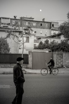 Streetlife in Shköder, Albania