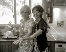 Mum (left) and aunty Kerry (right)