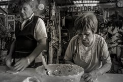 Empanada production line