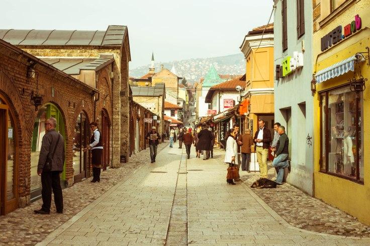 Sarajevo Street Life